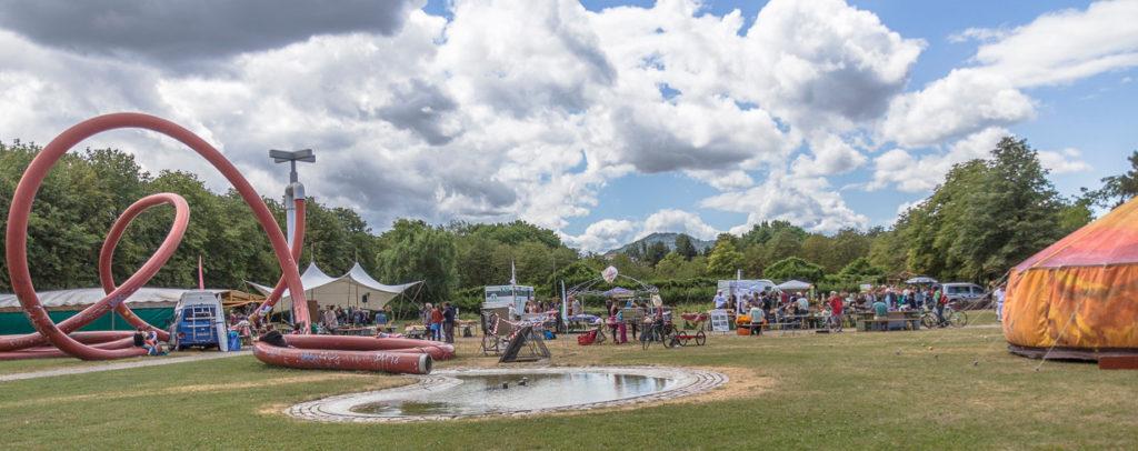 Festivalgelände Eschholzpark 2015